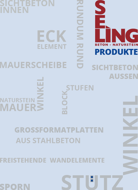 SELING Beton hat eine Umfangreiche Palette an Produkte von Mauerwinkel deutschlandweit.