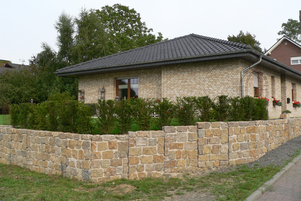 NATURSTEIN-Mauerwinkel von SELING